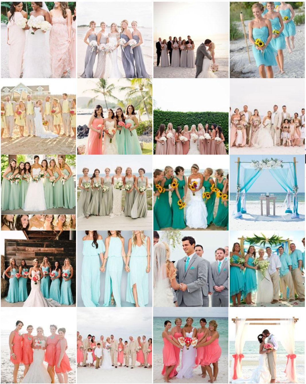 Best Beach Wedding Colors Inspiration