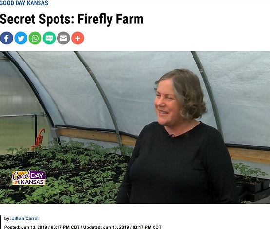 Firefly Farm on Good Day Kansas