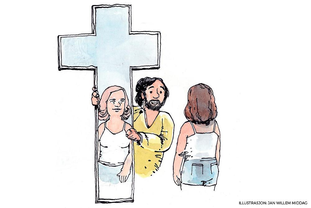 For at vi skal se vårt sanne jeg, må vi bruke det rette speilet. Gud skapte oss i sitt bildet, og han ser oss for hvem vi er. Ubetinget omfavner han og elsker oss.