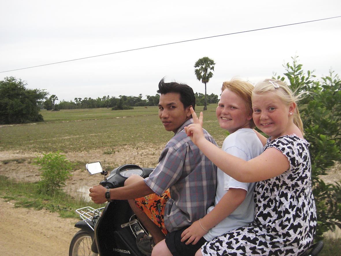Familiemisjon i Kambodsja