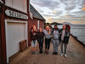 På tur rundt i Norge