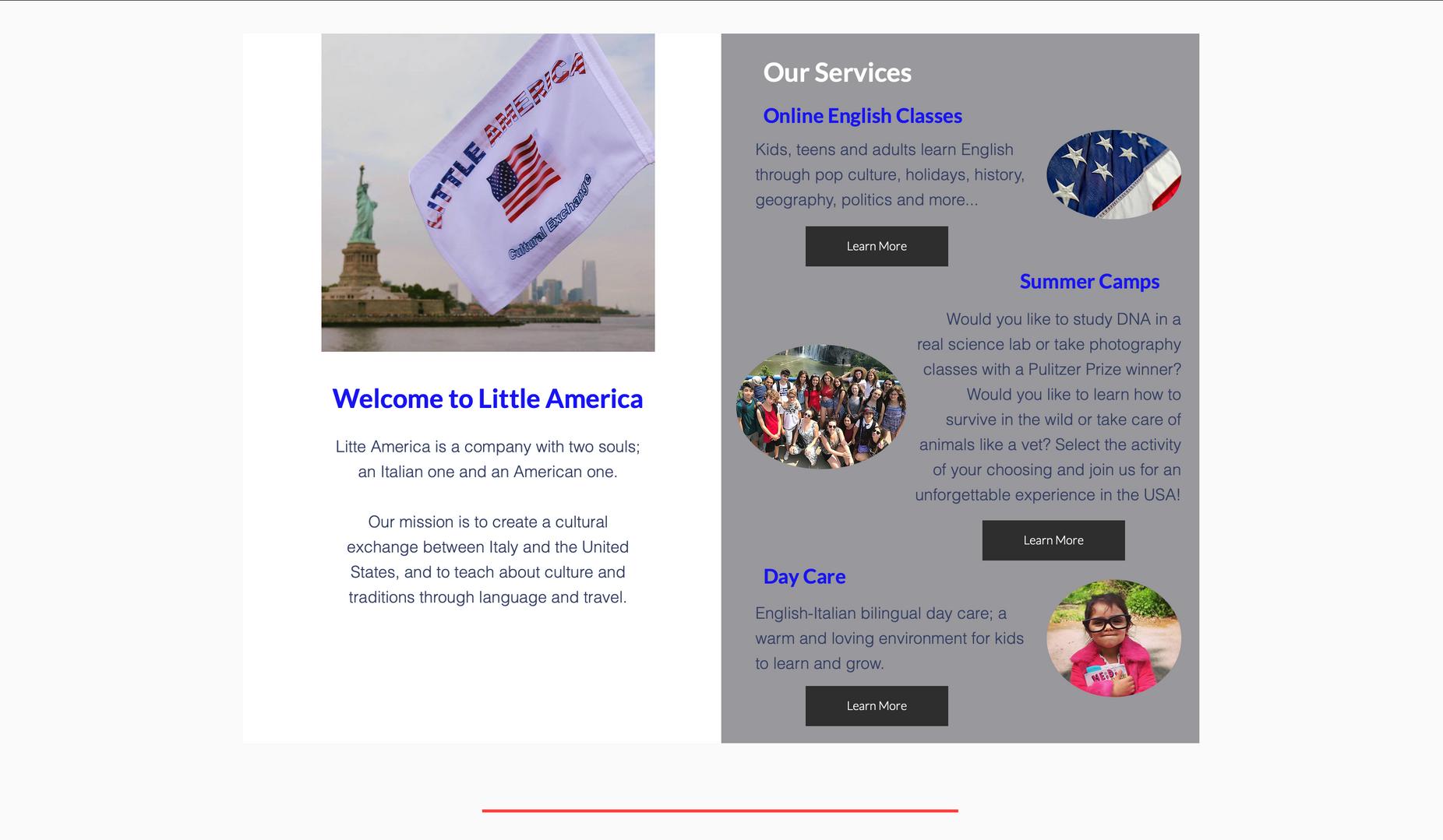 Business Website, Little America LLC