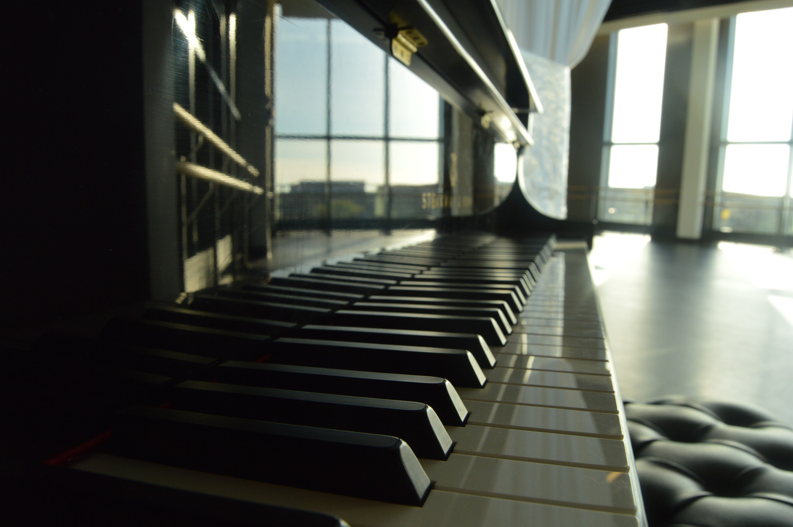Piano at Merrins Dance Theatre