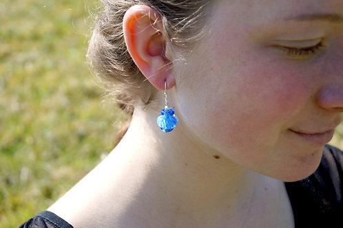 Ohrhänger Zanfirrico blau