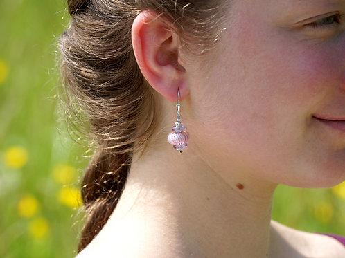 Ohrhänger rosa Zanfirrico