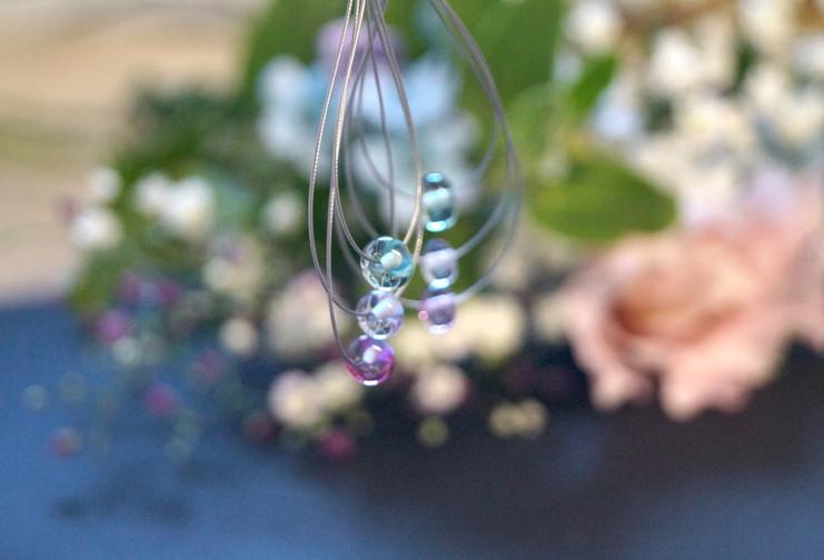 Glasperlen Heart Bead