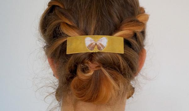 Haarspange mit Muschel