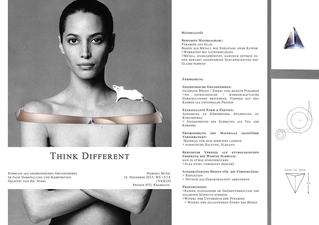 Think Different Entwurf