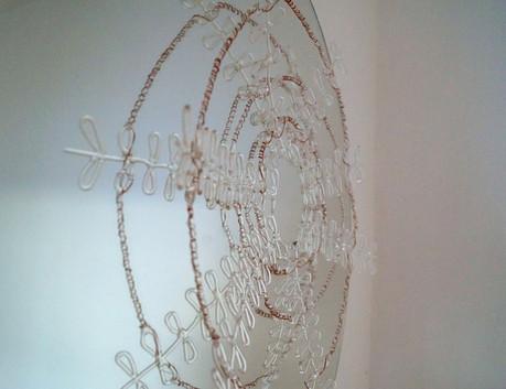 Gitternetzttechnik auf Spiegel