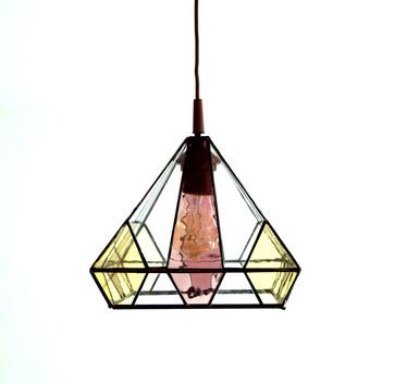 Lampenschirm in Tiffany-Technik