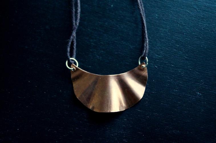 Kette mit Kupferanhänger