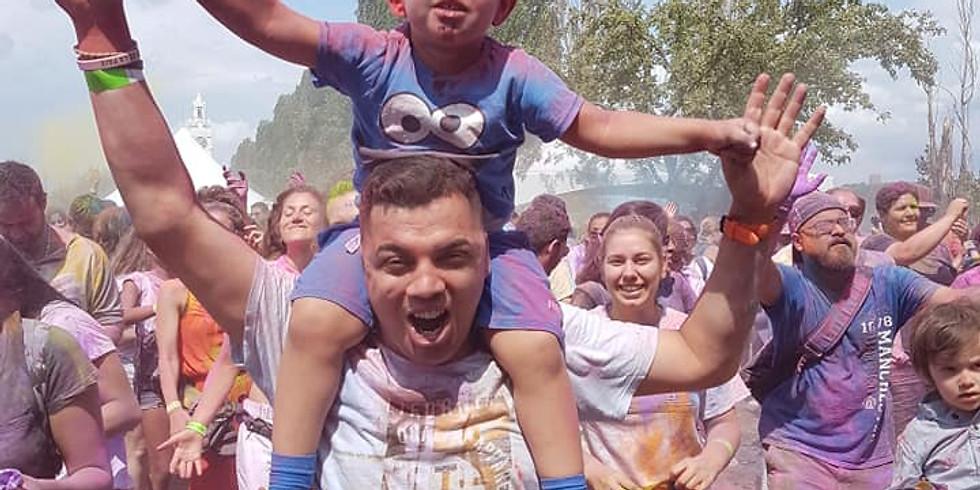 HOLI 2020 Festival des couleurs - Festival of Colors