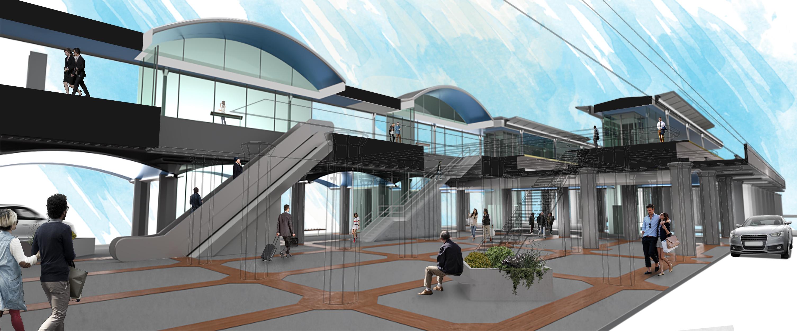 LIRR Babylon Station