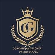 coacher pour gagner logo Philippe Takacs