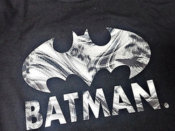 HTV elastic foil-batman