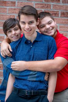 Bryan, Sean, and Dylan