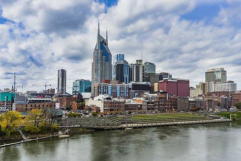 Nashville skyline on Live Eat Play Nashville! Get your business on the site 615-933-3123