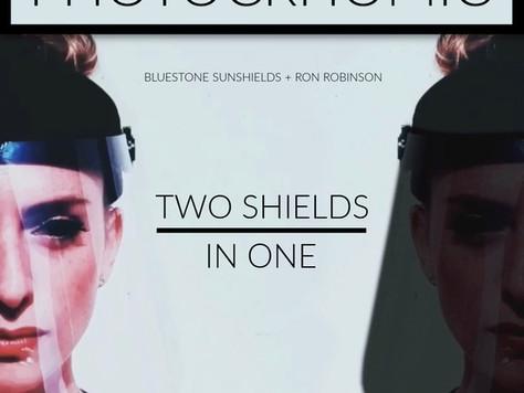Bluestone collaborates with iconic LA retailer, Ron Robinson, on Photochromic Face Shield