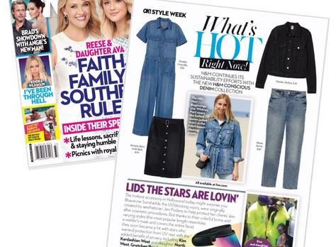 Kim Kardashian spotted in Ok! Magazine wearing Bluestone Sunshields
