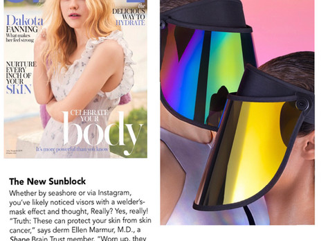 """Named """"The New Sunblock"""" by SHAPE Magazine"""