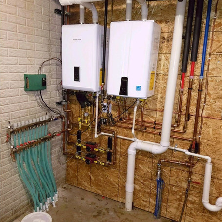 Radiant Heating & Domestic Hot Water
