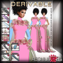 NEW NEW NEW!_New Derivable Sheath Dresses with beautiful roses! Shop AeoniumRed ♥ Thanks for your su