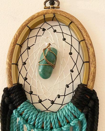 Jade Stone Dreamcatcher