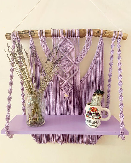 Lavender Shelf