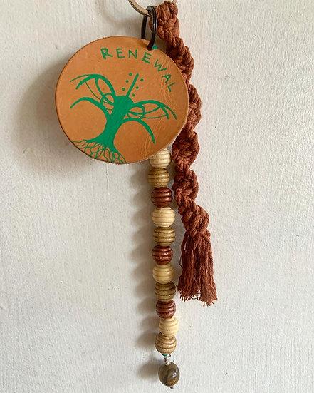 RENEWAL Sigil/Tigers Eye keychain