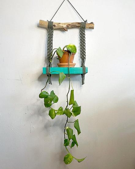 Small Turquoise Shelf