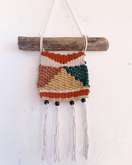 Desert Pyramid Weaving
