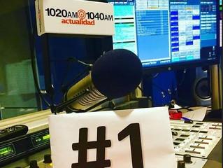 Actualidad Radio 1020 - 1040AM se consolida como la emisora líder entre los Hispanos del Sur de la F