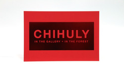 Chihuly Exhibit Invitations