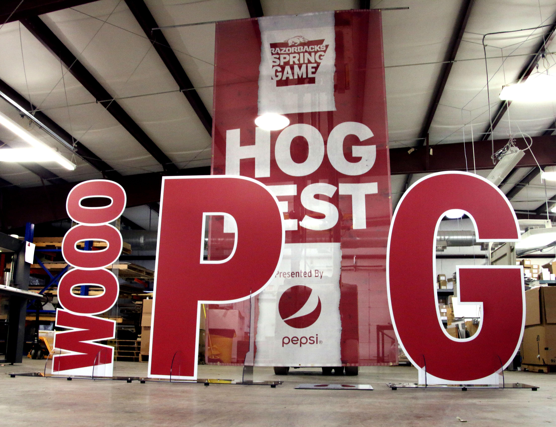 Hog Fest Signage