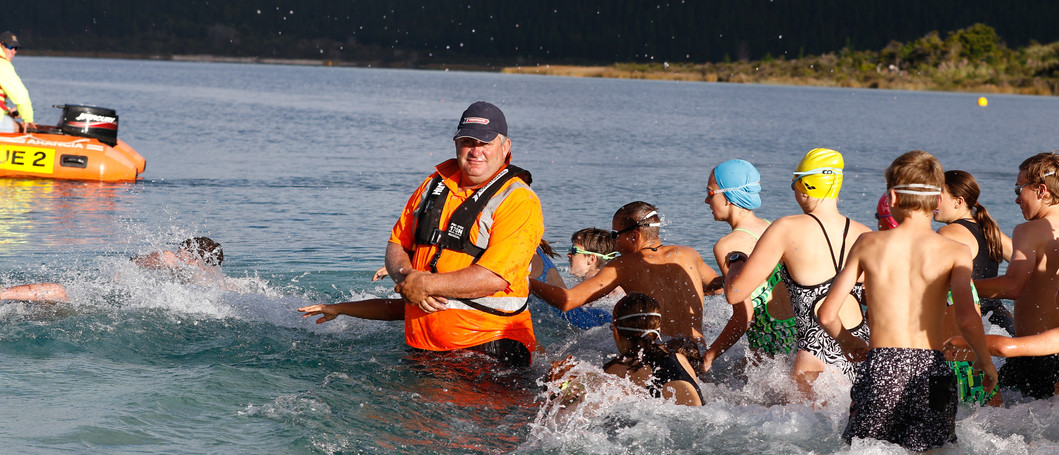 Kai Iwi Lakes Kids Triathlon Water Marsh