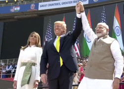 The President Is Coming- #NamasteTrump