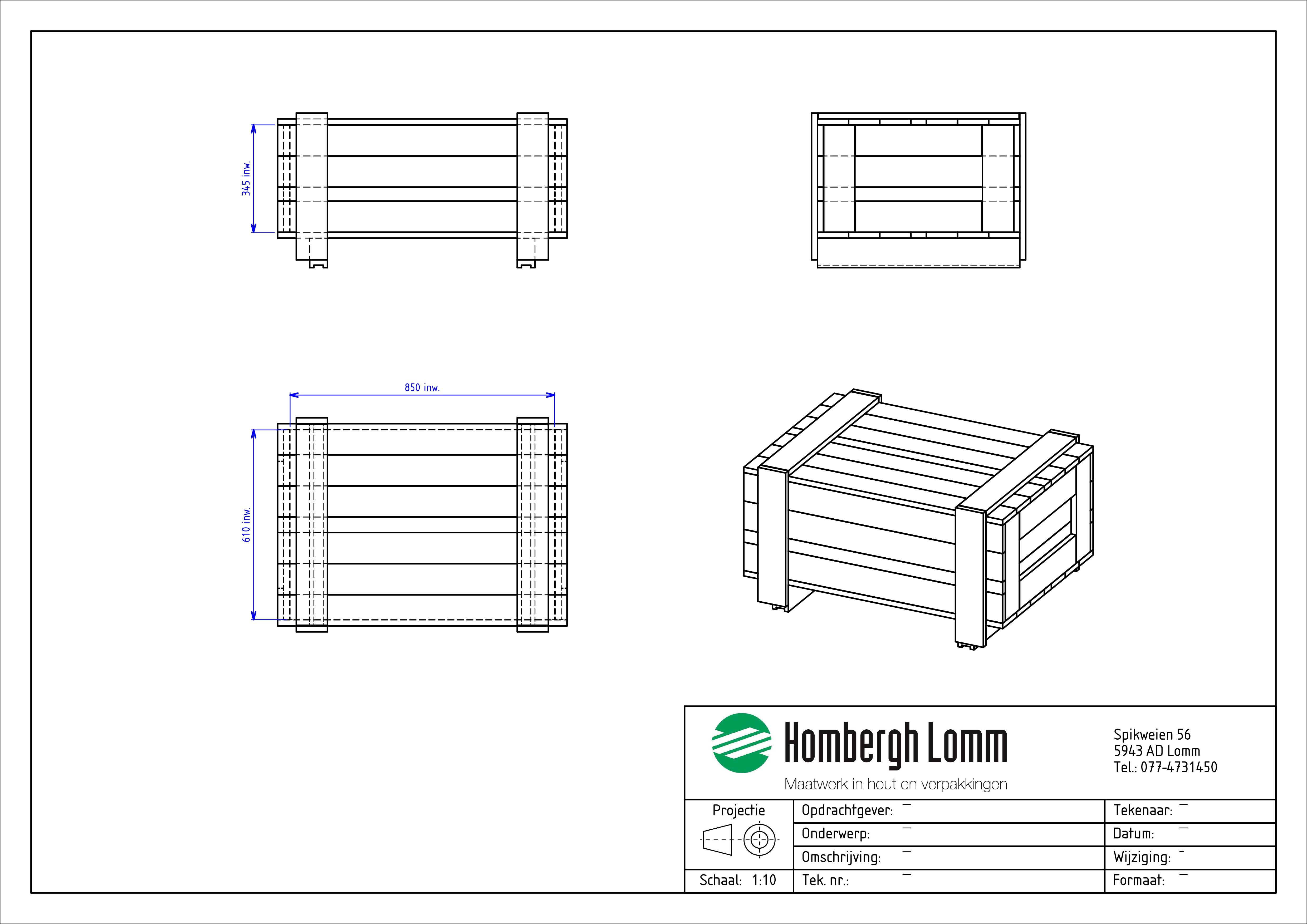 Voorbeeld 2 kist