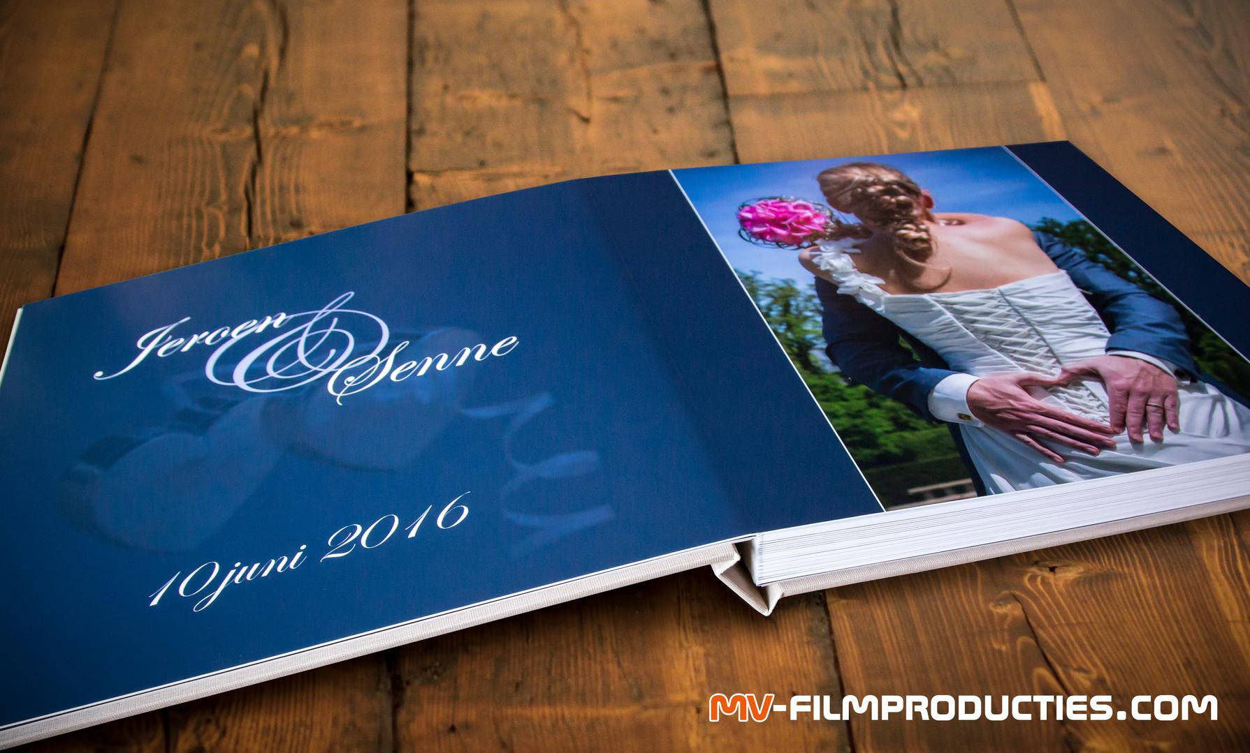Bruidsfotografie fotoalbum