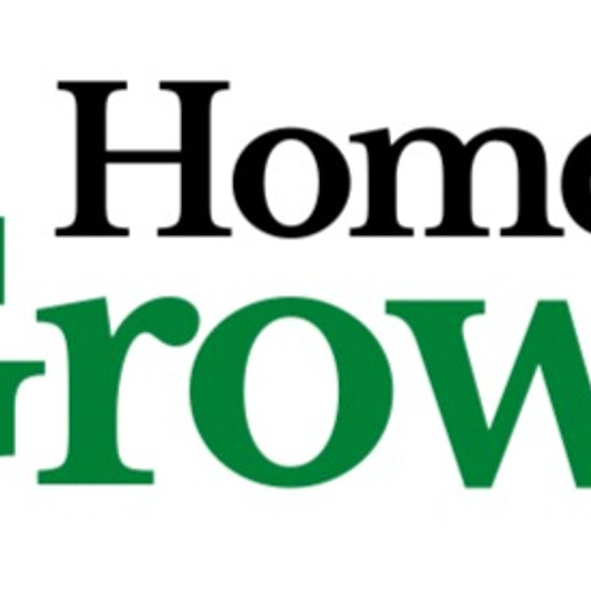 Home Grown - herb & houseplant workshop