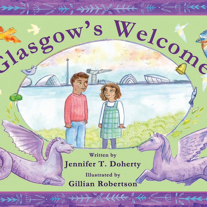Glasgow's Welcome - The Book Launch
