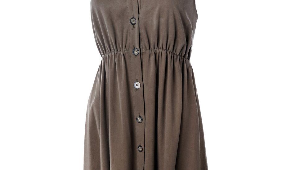 Long dress Tropic  Kaki