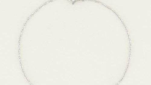 Armband Klavertje vier S
