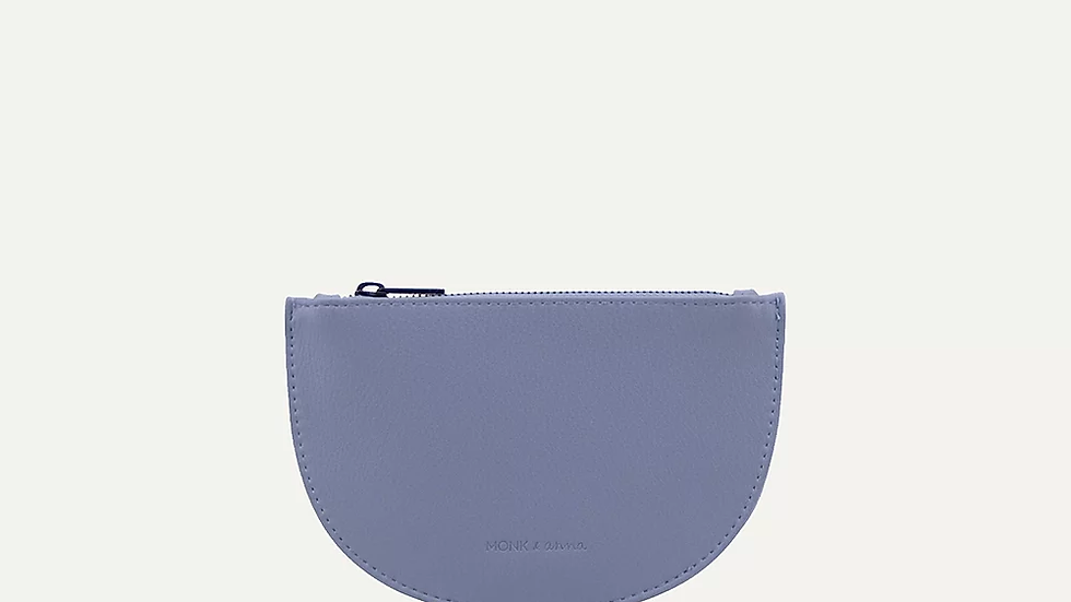 Half moon wallet Blue