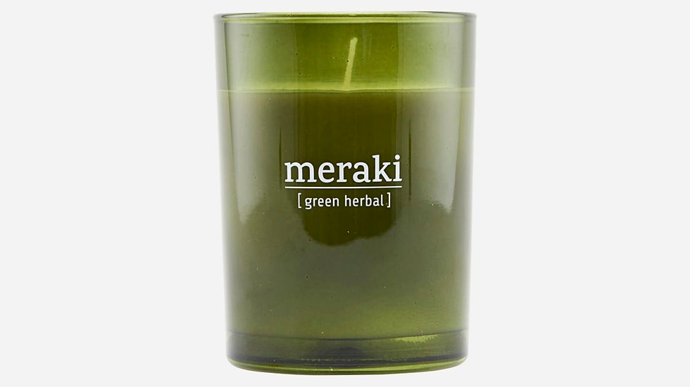 Geurkaars Meraki Green Herbal