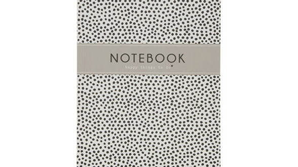 """Notebook A5 """"Happy things to do"""""""