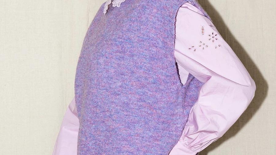 Debardeur Emelie lila