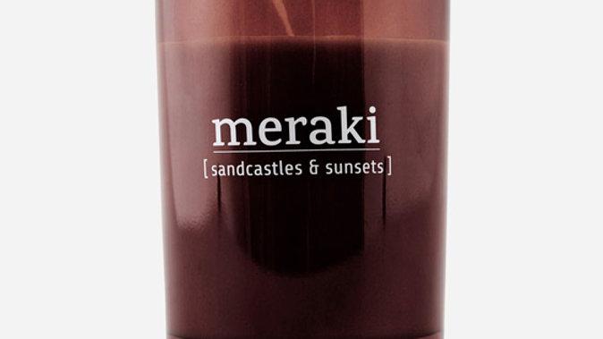 Geurkaars Meraki Sandcastles & sunsets
