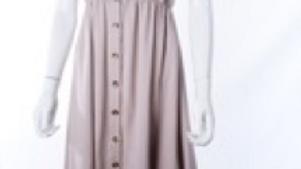 Long dress Tropic Crema