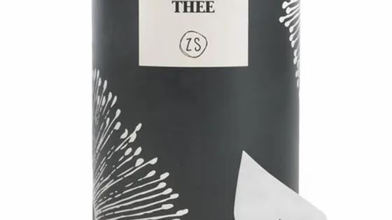 Earl grey thee in luxekoker grafietgrijs