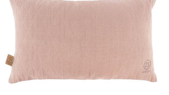 Kussen wiebers 30x50cm roze